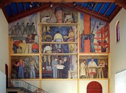 Diego Rivera Rockefeller Mural by Ross U0027 Columns California