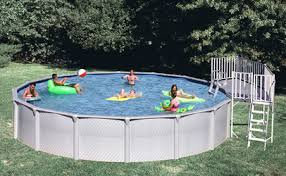 Above Ground Pool Ladder Deck Attachment by Ladders Above Ground Inground Swimming Pool