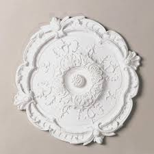 Small Two Piece Ceiling Medallions by 15