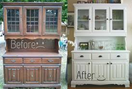Before And After Dining Room Hutch
