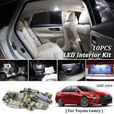 100 Led Interior Lights For Trucks 10pcs White Canbus Car Package Kit 2007 2018