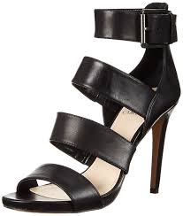 amazon com vince camuto women u0027s rittel dress sandal black 8 5