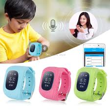 100 Where Is Dhgate Located Q50 LCD GPS Tracker Watch SOS Safe Call Location Locator Smartwatch