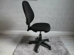BLACK CLOTH SWIVEL DESK/OFFICE CHAIR | In Aberdare ... Cheap Office Chair With Fabric Find Deals Inspirational Cloth Desk Arms Best Computer Chairs Fabric Office Chairs With Arms For And High Back Black Executive Swivel China Net Headrest Main Comfortable Kuma 19 Homeoffice 2019 Wahson 180 Recling Gaming Home Eames Fashionable Breathable Nanowire Original Low Ribbed On