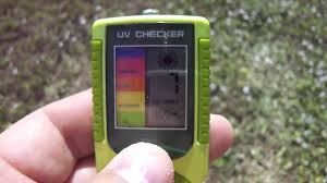 Uvb Lamp Vitamin D3 by Uva Uvb Meter Tells You When You Can Make Vitamin D3 Youtube