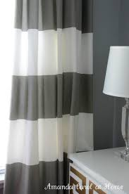 Tommy Hilfiger Curtains Cabana Stripe by Beautiful Gray White Curtains 21 Hillcrest Gray And White Striped