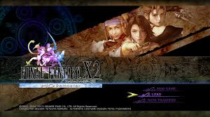 Final Fantasy X Remaster Light Curtain by Final Fantasy X 2 Remaster Title Screen Video Game Title Screens