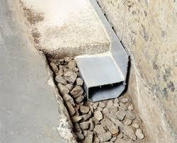 drain systems vs interior perimeter drainage