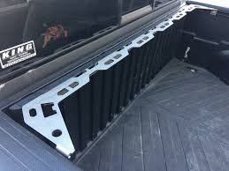 100 Truck Bed Tie Downs Front Rail Down Wheel Chock System For 0515 Toyota Tacoma