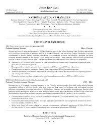 Sample Resume Account Executive