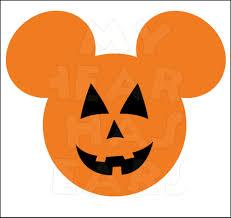 Mickey Mouse Pumpkin Stencil by Scary Halloween Pumpkin Stencils