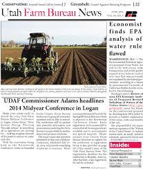 Bishops Pumpkin Farm Employment by June 2014 Farm Bureau News By Utah Farm Bureau Federation Issuu