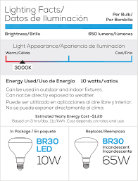 shop blue sky wireless 65 w equivalent dimmable warm white br30