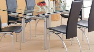Dining Room Tables With S In Design Glass Table Extender
