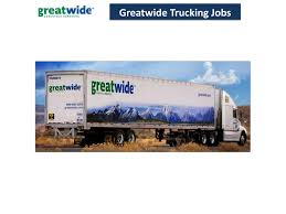 Greatwide Trucking Jobs By Jamessonjohn9 - Issuu