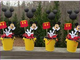 1st Birthday Mickey Mouse Decorations