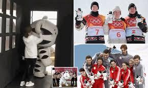 Korea s tiger mascot Soohorang be es Winter Olympic star