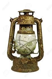 Calcium Carbide Lamp Fuel by Hurricane Lamp Storm Lantern Very Corroded Vintage Kerosene