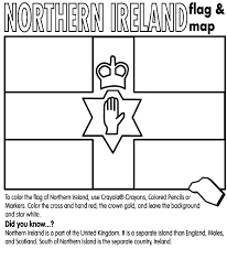Northern Ireland Coloring Page