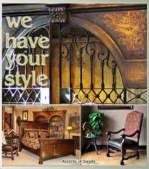 Hacienda Furniture With Wrought Iron