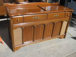 remember the old cabinet stereos where the turntable and radio are