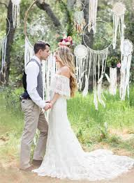 Boho Chic Wedding Themes Ideas For Rustic Weddings Bohemian Bridesmaid