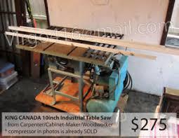 Cabinet Table Saw Kijiji by Table Saw Buy Or Sell Tools In Toronto Gta Kijiji