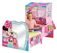 Minnie Mouse Canopy Toddler Bed by Disney Minnie Mouse Toddler Bed And Canopy By Hellohome Amazon Co