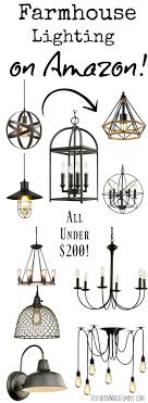 farmhouse light fixtures 200 on southern made