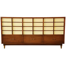 Johnson Carper 9 Drawer Dresser by White Lacquer Dressers 95 For Sale On 1stdibs