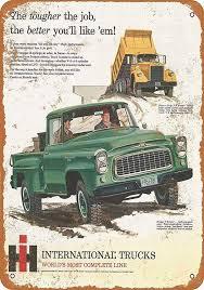 100 International Trucks Chicago Amazoncom PaBoe 8 X 12 Metal Sign Pickup