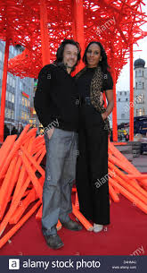 100 Arne Quinze Belgian Artist And His Girlfriend Barbara Becker