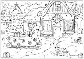 Christmas List Coloring Pages Printable