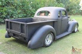 100 1937 Plymouth Truck For Sale International Coupe UTE Project RAT ROD HOT ROD Pick UP