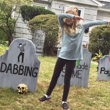 Funny Halloween Tombstones For Sale by Dad U0027s Funny Halloween Graveyard 2017 Popsugar Australia Parenting