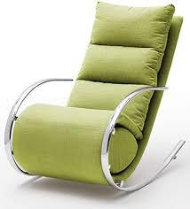 robas lund relaxsessel relaxliege wohnzimmer schaukelstuhl york webstoff grün