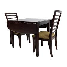 Raymour And Flanigan Dining Room Sets by 45 Off Counter Height Extendable Dining Table With Stools Tables