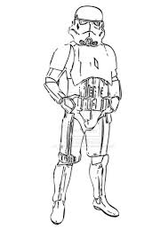 Star Wars Storm Trooper Coloring Pages And Stormtrooper
