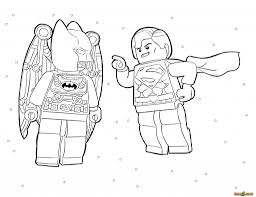 Lego Superman Coloring Pages Marvel Superheroes Batman And Page Images