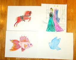 Watercolor Pencils DIY Artwork