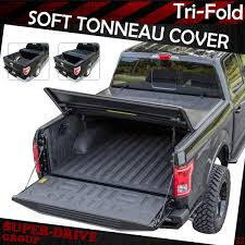 Premium Tri-Fold Tonneau Cover For 2015-2018 FORD F-150 8' FT 96 ...