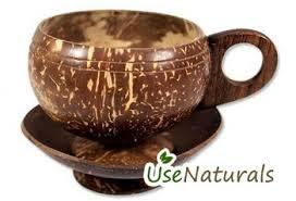 Coconut Shell Handicraft Coffee Cup