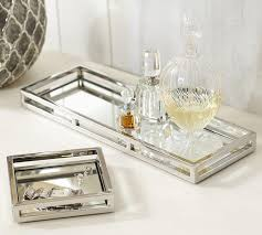 Brynn Mirrored Trays Wardrobe Pinnacle Cute Reflect Tray To Display Some Earrings Or Fragrance Perfume For Dresser