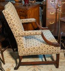 18th Century English Gainsborough / Reading Chair, Walnut, Circa, 1775