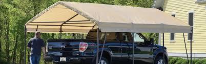 Shelterlogic Run In Sheds by Carports Shelterlogic Corp Shade Shelter And Storage