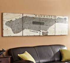 Planked USA Wall Art Panels Pottery Barn