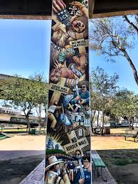 Chicano Park Murals Map by Quetzalcoatl In Chicano Park Writing Is Thinking