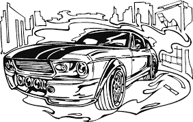 Race Car Coloring Pages Simple Free Printable