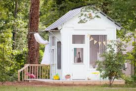 Home Depot Storage Sheds 8x10 by Amazing Kids U0027 Playhouse Built From An Old Backyard Shed