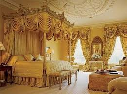 BedroomVictorian Bed Canopy Luxurious Curtain Style Victorian Ceiling Design Decoration Idea Very Impressive
